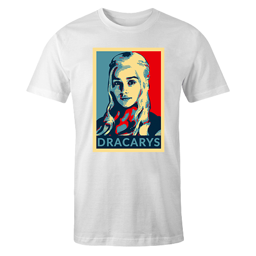 Dracarys Shirt Sublimation Dryfit Shirt