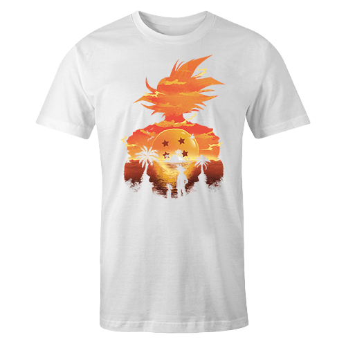 Dragon Ball Sublimation Dryfit Shirt