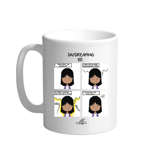 Daydreaming 101 Sublimation White Mug