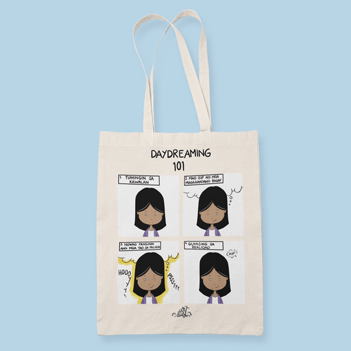 Daydreaming101 Sublimation Canvass Tote Bag
