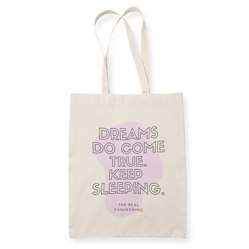 Dreams do come true Sublimation Canvass Tote Bag