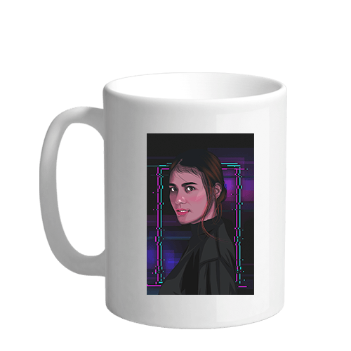 Ela Gaming Graphic Sublimation White Mug