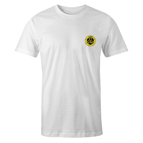 TGP Logo White Cotton Embroidered Shirt