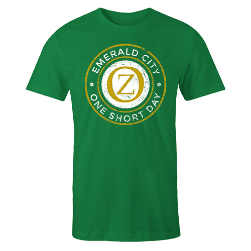 Emerald City Green Cotton Shirt
