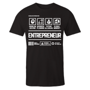 Entrepreneur Handling Black Shirt