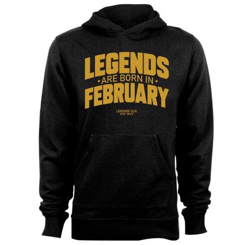 Legends are Born in February v8 G5 Cotton Shirt