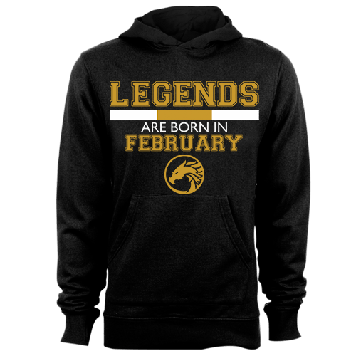 Legends are Born in February v5 G5 Cotton Shirt