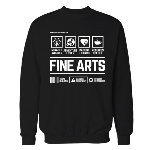 Fine Arts Handling Black Shirt