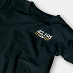 Finisher Black Embroidered Shirt