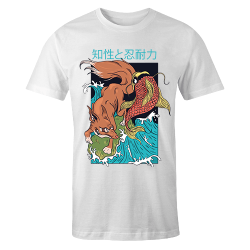 Fish And Fox Sublimation Dryfit Shirt