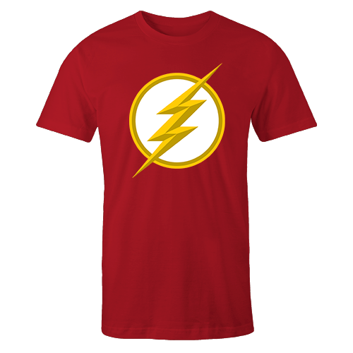 The Flash Red Cotton Shirt