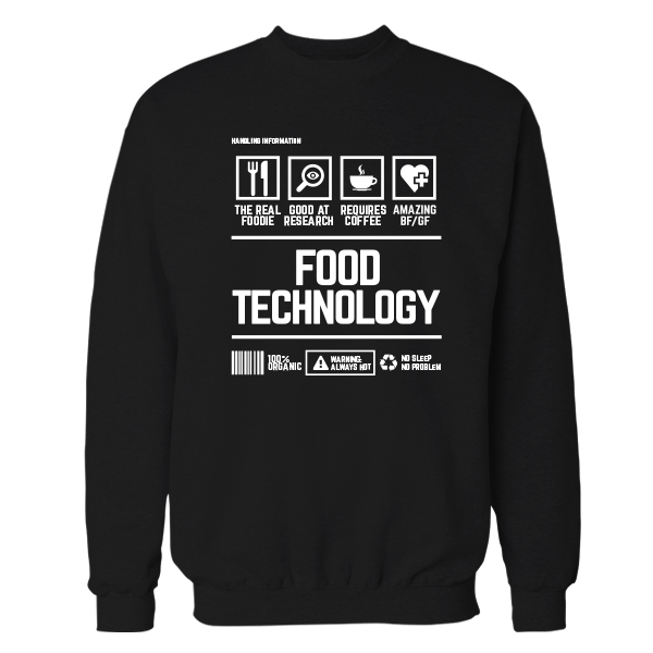 Food Technology Handling Black Shirt