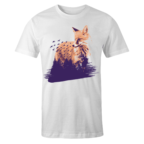 Pixie Fox Sublimation Dryfit Shirt