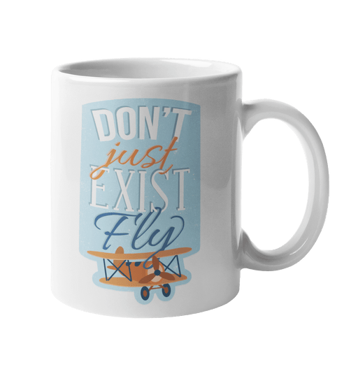Fly Sublimation White Mug