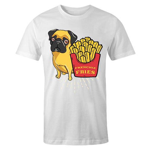 Frenchie Fries Sublimation Dryfit Shirt