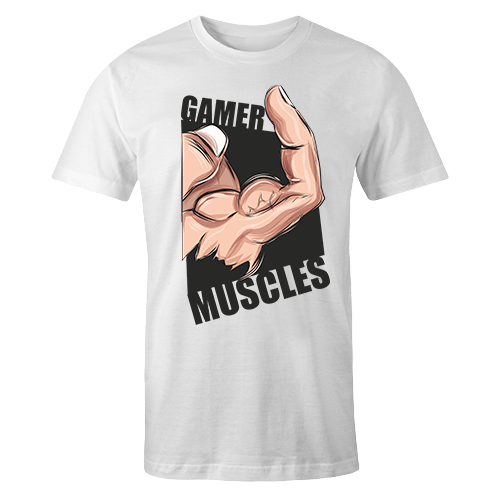 Gamer Muscles Sublimation Dryfit Shirt