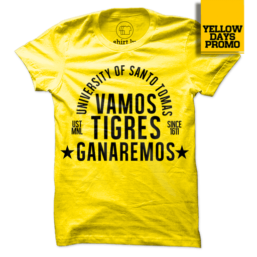GANAREMOS Yellow Cotton Shirt