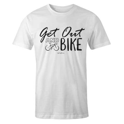Get out and bike Sublimation Dryfit Shirt