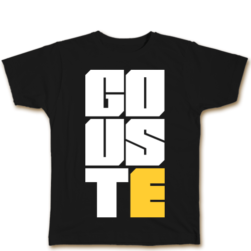 Go uste Black Cotton Shirt