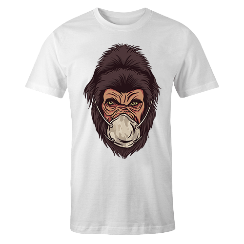 Stay at home Gorilla Sublimation Dryfit Shirt