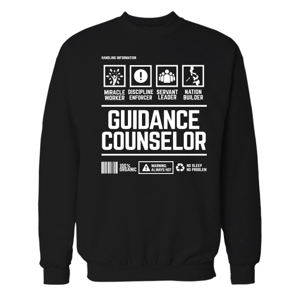 Guidance Handling Black Shirt