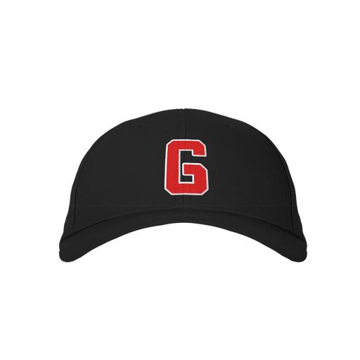 Letter G Black Embroidered Cap