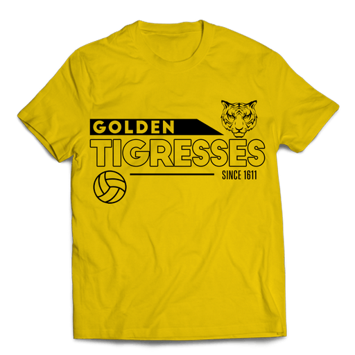 G Tigresses Yellow Cotton Shirt