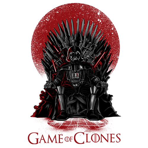 Game of Clones Sublimation Dryfit Shirt