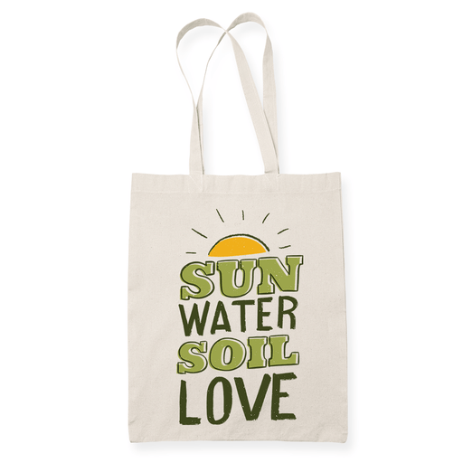 Gardening Sublimation Canvass Tote Bag