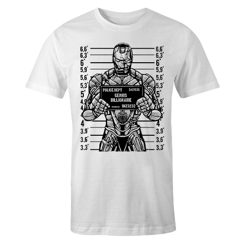 Genius Billionaire Sublimation Dryfit Shirt