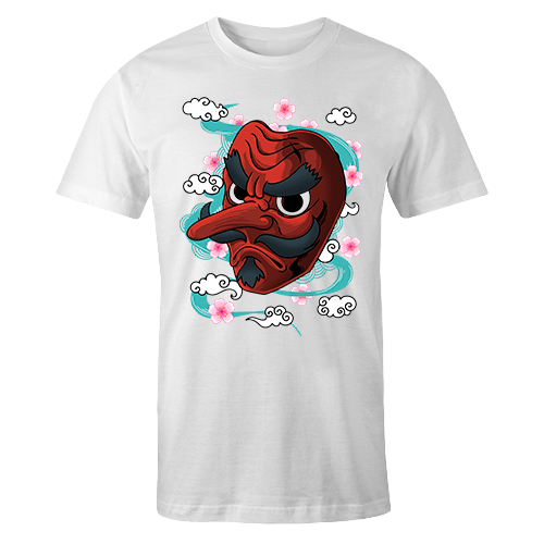 Goblin Mask Sublimation Dryfit Shirt