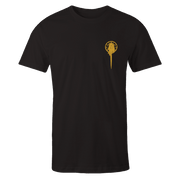 Hand Of The King Gold Black Cotton Shirt