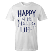 Happy Wife Sublimation Dryfit Shirt