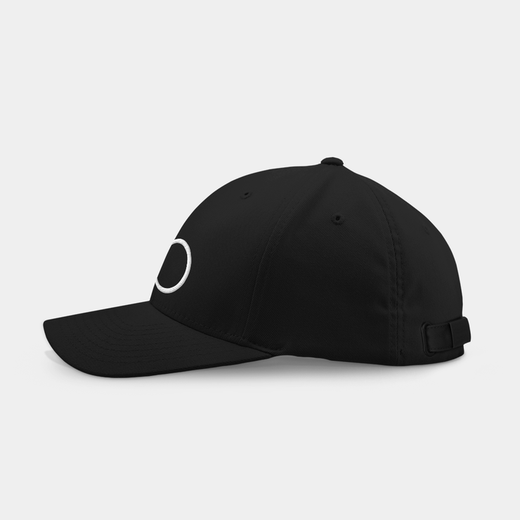 Harry v1 Black Embroidered Cap