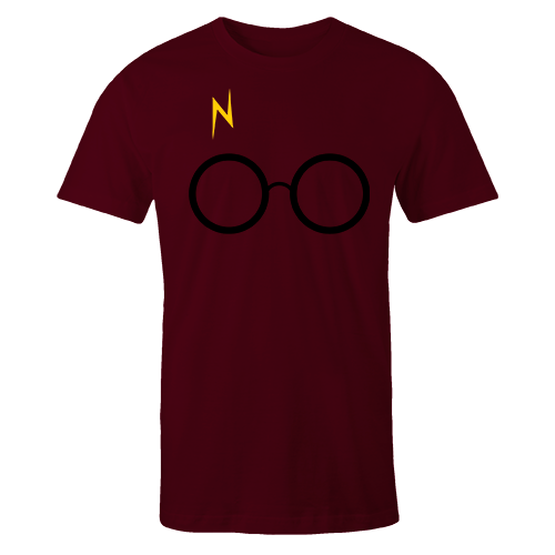 Harry Maroon Cotton Shirt