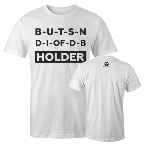 HOLDER White Cotton Shirt With Logo At The Back