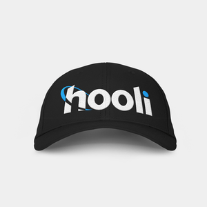 Hooli Black Embroidered Cap Black Embroidered Cap