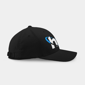 Hooli Black Embroidered Cap