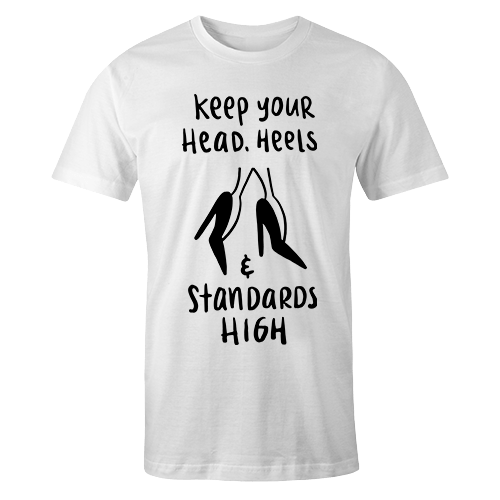 Heels and standards high Sublimation Dryfit Shirt