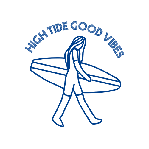 High Tide Good Vibes Sublimation Dryfit Shirt