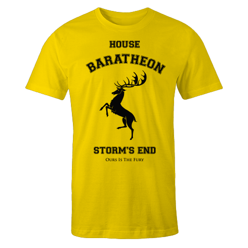 House Baratheon Yellow Shirt