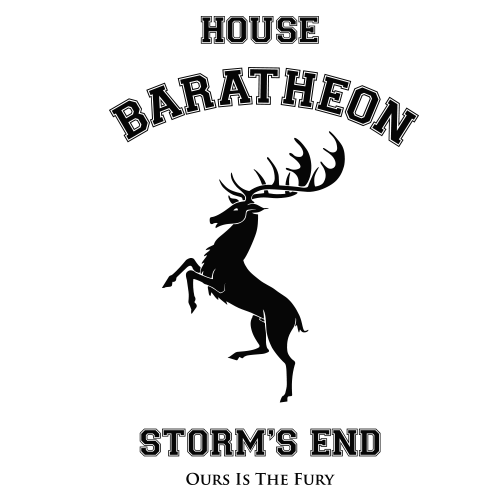 House Baratheon Yellow Cotton Shirt