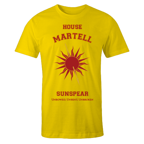 House Martell Yellow Shirt