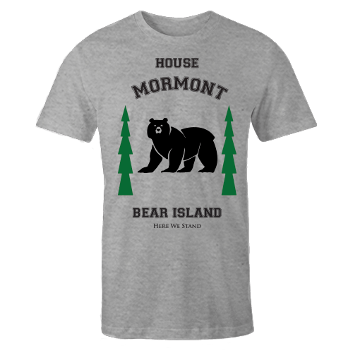 House Mormont Grey Cotton Shirt
