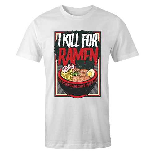 I Kill For Ramen Sublimation Dryfit Shirt