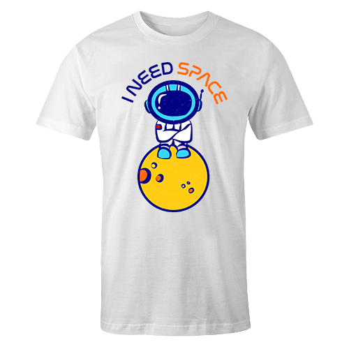I Need Space Sublimation Dryfit Shirt