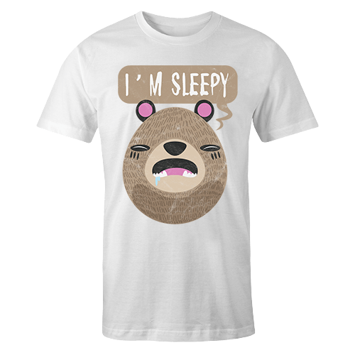 Im Sleepy Sublimation Dryfit Shirt