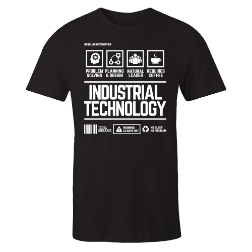 Industrial Technology Handling Black Shirt