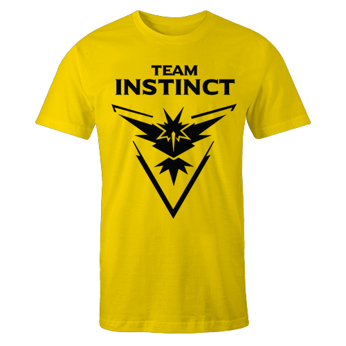 Team Instinct Yellow Cotton Shirt