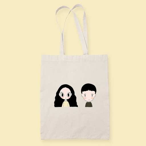 IONTBO dolls Sublimation Canvass Tote Bag